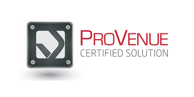 ProVenue Certified Solution